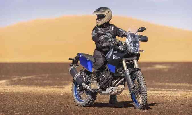 A Ténéré 700 é compacta para proporcionar maior agilidade(foto: Yamaha/Divulgação)