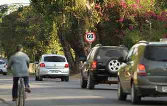 É importante respeitar o limite de velocidade. Principalmente em trechos urbanos. Foto: Peu Ricardo / DP Foto