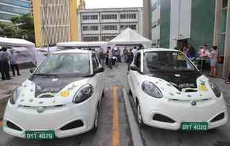 Recife é a cidade pioneira em compartilhamento de carros elétricos(foto: Annaclarice / DP)