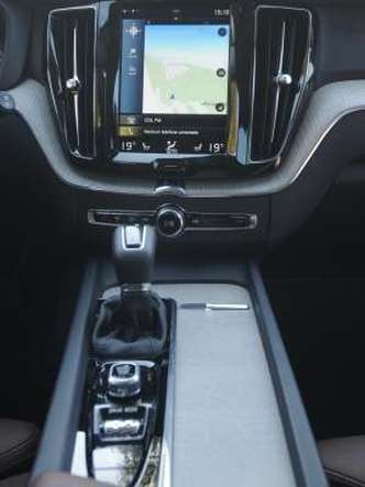 Central multimídia lembra um tablet e concentra vários comandos do veículo(foto: Leandro Couri/EM/D.A Press)