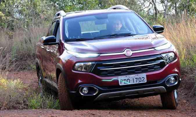 Fiat Toro(foto: Ramon Lisboa/EM/D.A Press - 11/2/16)