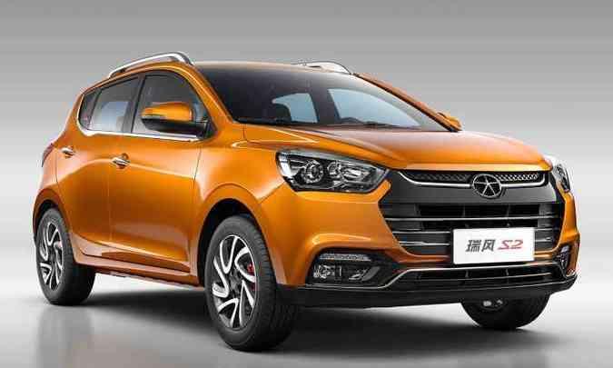 Hatch aventureiro é chamado de S2 na China(foto: JAC Motors/Divulgação)