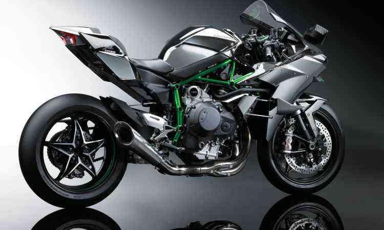 O modelo só pode rodar em circuitos ou locais fechados - Kawasaki/Divulgação