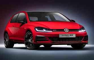 Modelo pode chegar aos 250 km/h limitado eletronicamente. Foto: Volkswagen / Divulgação