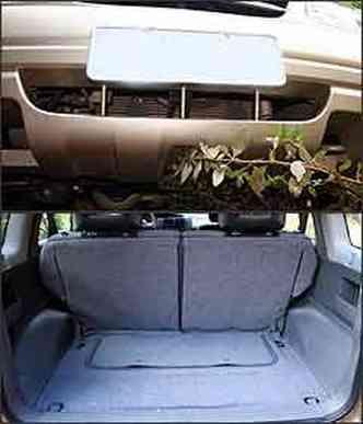 Mancada é falta de tela protetora na entrada de ar. Já o porta-malas pequeno requer habilidade na arrumação(foto: Fotos: Marlos Ney Vidal/EM - 9/3/07)