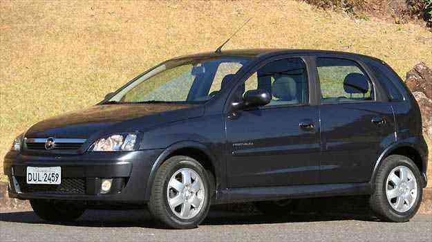 Versão Maxx do Chevroelt Corsa 1.4 já tem airbag duplo - Marlos Ney Vidal/EM/D.A PRESS