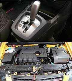 Câmbio manual automatizado permite trocas manuais e automáticas. Já o motor 1.8 desenvolve 112 cv de potência com gasolina e 114 cv cm álcool -