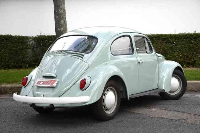 Volkswagen Fusca Pé de Boi 1968Thiago Ventura/EM/D.A Press