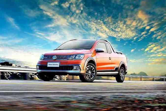 Modelo ganhou linhas mais robustas e ficou mais alto em relação ao solo (foto: Volkswagen / Divulgação )