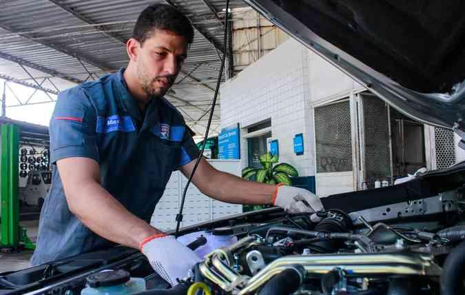 Victor Henrique lembra que o consumo dos motores independe da sua estrutura (foto: Thalyta Tavares/Esp. DP )