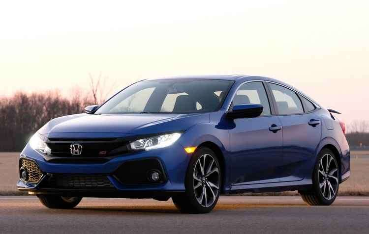 Pela primeira vez o Civic Si recebe o motor turbo nas versões cupê e sedã - Honda/Divulgação