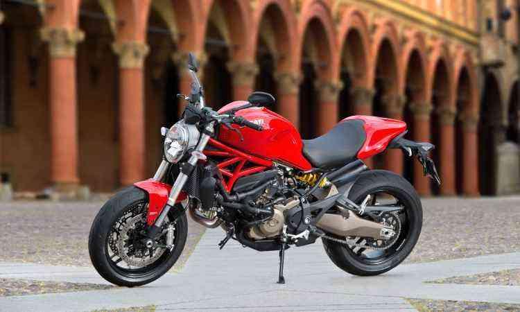 O motor tem três tipos de mapas com potências que vão de 75cv a 112cv - Léo Boi/Ducati/Divulgação
