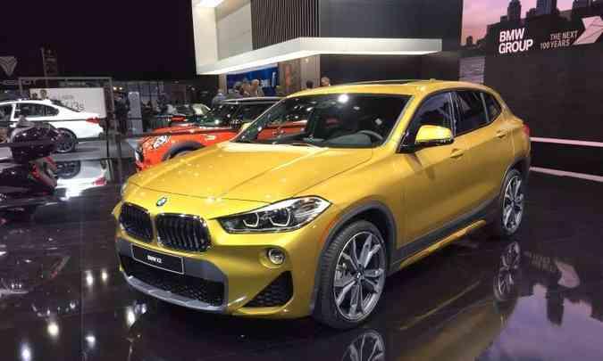 Novo BMW X2 chegará ao mercado brasileiro no segundo semestre(foto: Enio Greco/EM/D.A Press)