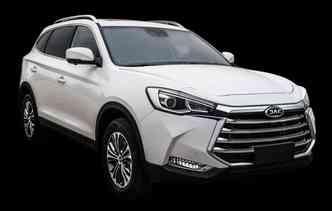 SUV de luxo da JAC será apresentado em fevereiro. Foto: JAC / Divulgação