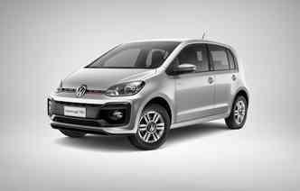 Move Up! é agora a versão de entrada do compacto(foto: Volkswagen / Divulgacao)