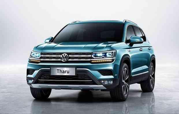 Tharu, modelo comercializado na China. - VW/ Divulgação