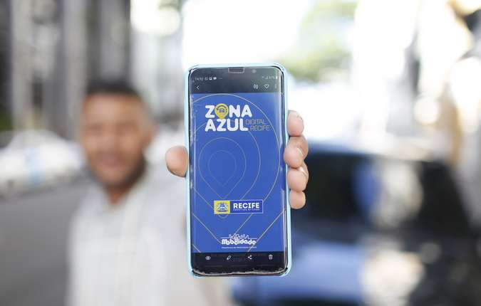 Aplicativo da Zona Azul está disponível na App Store e Google Play (foto: Peu Ricardo/DP FOTO)