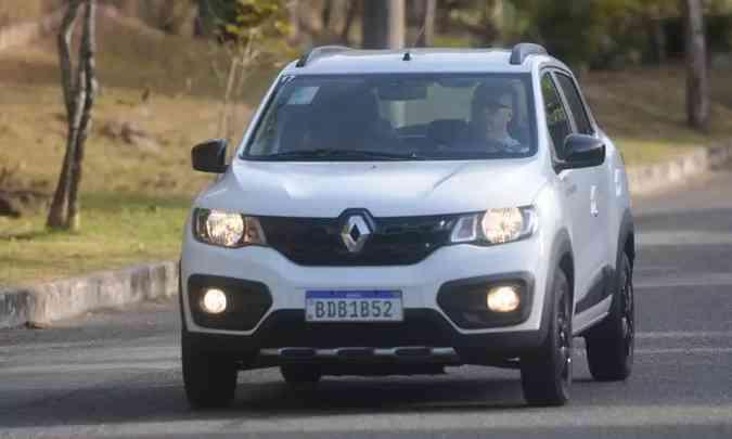 Renault Kwid está caindo pelas tabelas: 20ª colocação em agosto e nono lugar no acumulado do ano(foto: Leandro Couri/EM/D.A Press)