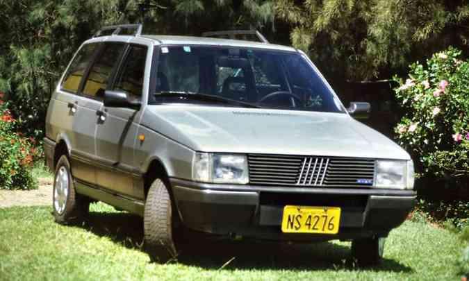 A perua Fiat Elba foi lançada em 1986(foto: Fiat/Divulgação)
