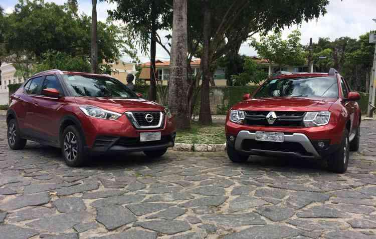 Kicks recebeu um visual melhor em relação ao SUV da Renault. Foto: Thainá Nogueira / DP -
