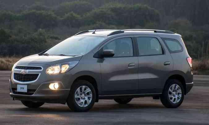 Linhas atuais do monovolume não fazem sucesso(foto: Chevrolet/Divulgação)