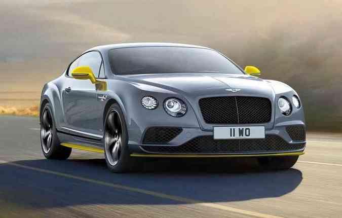 Bentley ganha destaque por suas propostas cada vez mais esportivas(foto: Bentley/Divulgação)