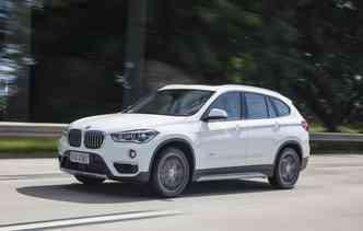 X1 está com desconto de R$ 12 mil(foto: BMW / Divulgação)