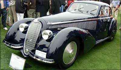 Alfa Romeo 8C 2900 B, de 1938 - Fotos: Boris Feldman/EM/D.A Press