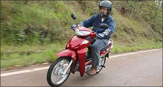 Visual é típico das motonetas asiáticas(foto: Marlos Ney Vidal/EM - 30/11/07)