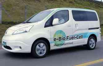(foto: Modelo tem 600 km de autonomia e está em testes pelo Brasil. Não há previsão de vendas.)