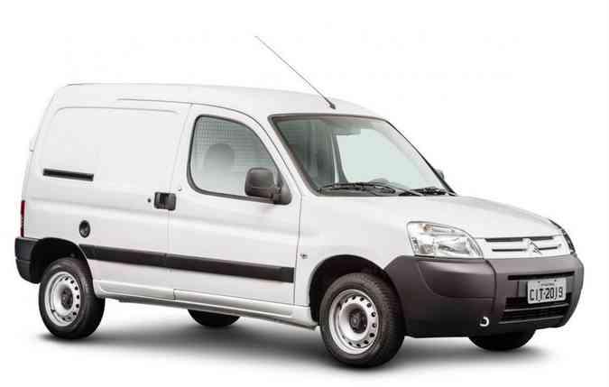 Utilitário antes para passageiros, chega agora na versão de carga(foto: Citroën / Divulgação)