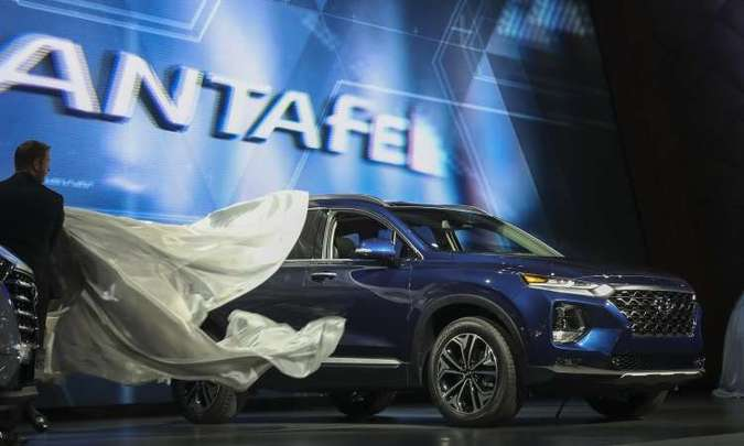 Novo Hyundai Santa Fe(foto: Drew Angerer/AFP)
