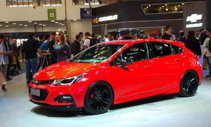Chevrolet Cruze SS é a versão mais apimentada do modelo(foto: Pedro Cerqueira/EM/D.A Press)