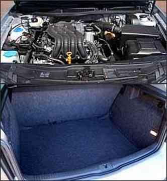 Motor 2.0 agora pode ser abastecido com álcool. Capacidade do porta-malas é de 330 litros