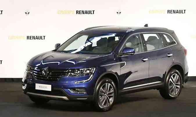 Koleos foi revelado no Salão de Pequim: topo de linha da Renault nos mercados com SUV em alta(foto: Renault/Divulgação)