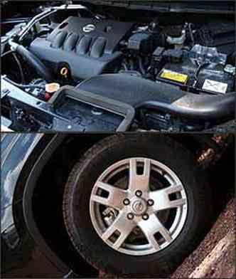 Motor 2.0 16V tem 138 cv de potência. Roda de liga aro 16 e pneu de medida 215/65
