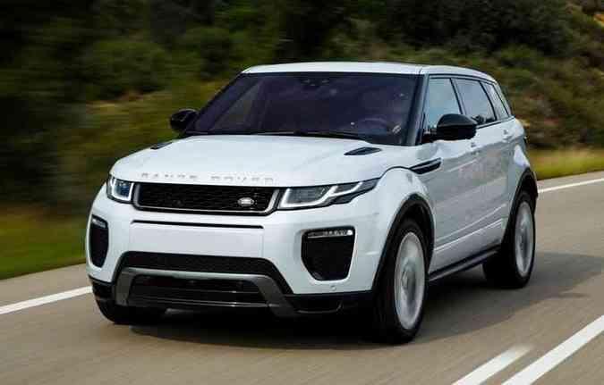 Range Rover Evoque deve ter preços mantidos(foto: Range Rover/divulgação )