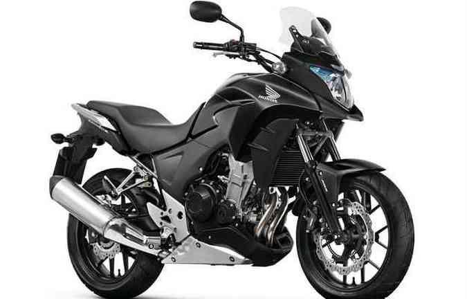 Cor preta está presente na versão ABS(foto: Honda/ divulgação)