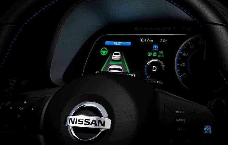 Modelo conta com a tecnologia ProPILOT, um sistema de assistência que abrange controle de aceleração, direção e frenagem - Nissan/Divulgação