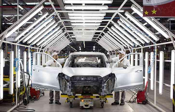 Nissan comemora dois anos de produção em Resende. Foto: Nissan / Divulgação -