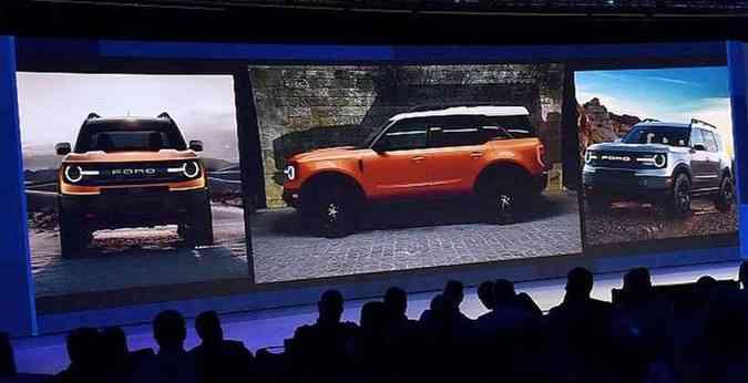 Suposta imagem vazada revela as novas linhas do SUV, com porte robusto e detalhes nostálgicos(foto: Ford/Divulgação)