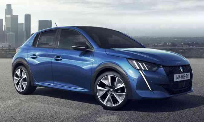 O hatch já foi lançado na Europa, mas só chegará ao Brasil no segundo semestre de 2020(foto: Peugeot/Divulgação)