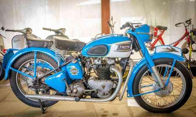 Triumph 500, de 1928(foto: Rômulo Provetti/Divulgação)