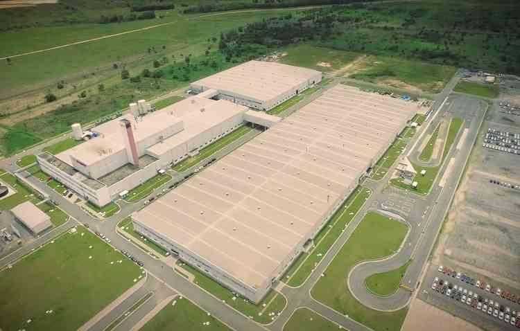 Fabrica de Jacareí está sendo ampliada para começar a produzir modelos da Chery - Caoa Chery / Divulgação