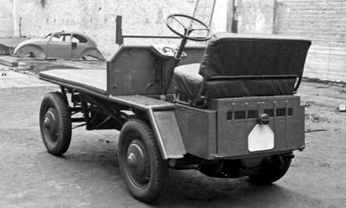 Versão original do Plattenwagen, que inspirou projeto do modelo(foto: Historical Notes Ivan Hirst/Reprodução)