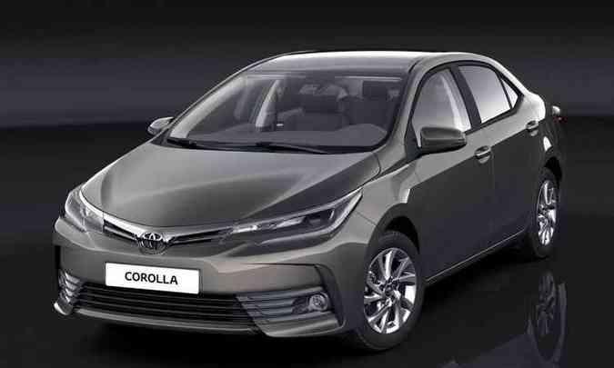 Visual do modelo europeu, que serve de base ao brasileiro, é comportado...(foto: Toyota/Divulgação)