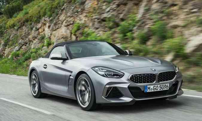 Nova geração da BMW Z4 ficou ainda mais imponente(foto: BMW/Divulgação)
