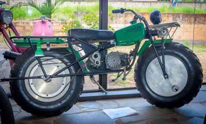 Moto trator Rokon, com tração nas duas rodas(foto: Rômulo Provetti/Divulgação)