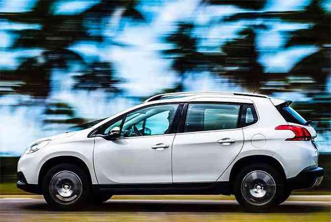 Peugeot 2008 ainda está decolando: 636 unidades em maio(foto: Peugeot/Divulgação)