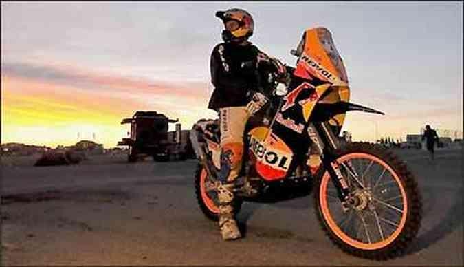O deserto e suas dunas também estiveram presentes na edição sul-americana do Dakar(foto: Fotos: KTM/Divulgação)